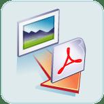 Convert JPG to PDF Logo