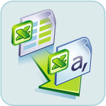 'Convert XLS' logo, can be used to copy sheets between workbooks in a automated way.